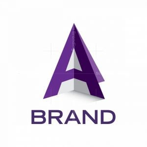 A-letter Perspective Logo