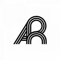 Ar Cool Letter Initial Monogram Logo