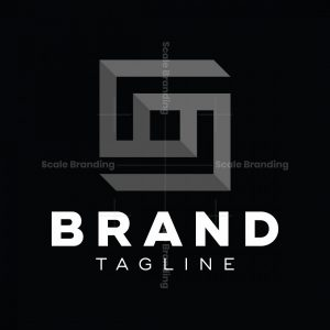 Abstract Monogram Sg Logo