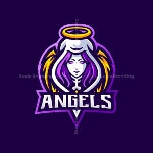Angles Mascot Logo
