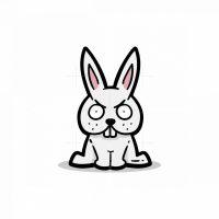 Angry Rabbit Logo