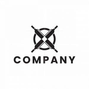 Letter X Bottle Logo