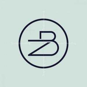 Letter Zb Monogram Logo