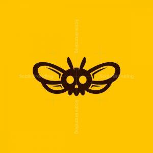 Bee Skull Logo