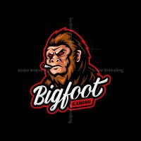 Bigfoot Mascot Logo