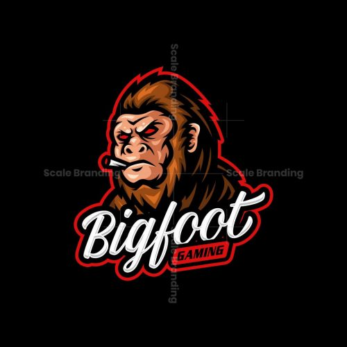 Bigfoot Mascot Logo