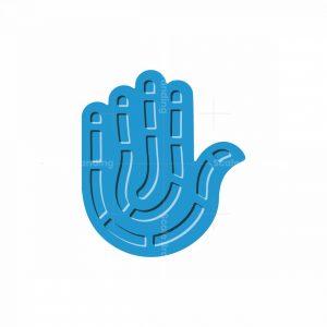 Biometric Hand Logo