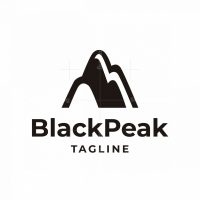 Black Peak Logo