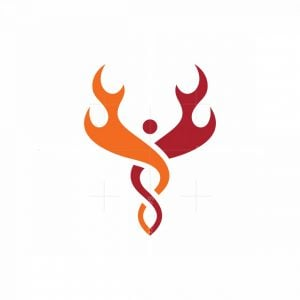 Bonfire Caduceus Logo