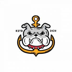 Bulldog Anchor Logo