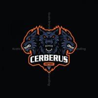 Cerberus Esport Mascot Logo