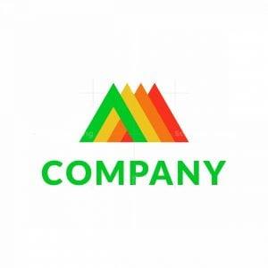 Cool Letter A Multicolor Logo