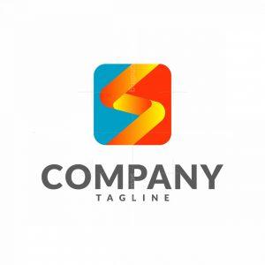 Cool Letter S Dynamic Logo