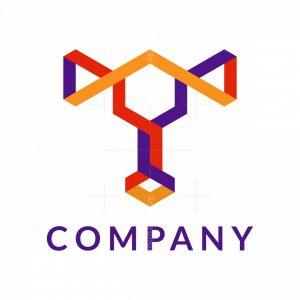 Cool T Isometric Logo