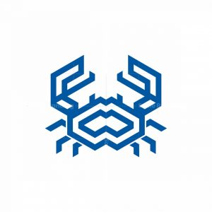Crab Isometric Logo