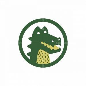 Crocodile Emblem Logo