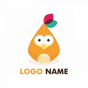 Cute Bird Mascot Logo