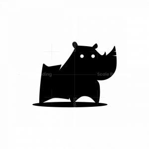 Cute Rhino Logo