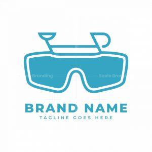 Cycling Glasses Logo