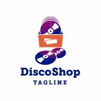 Disco Shop Logo