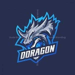 Doragon Mascot Logo