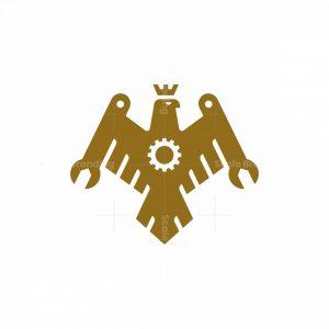 Eagle Repair Crest Logo