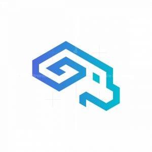 Goat Isometric Logo