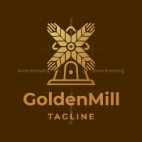 Golden Mill Logo