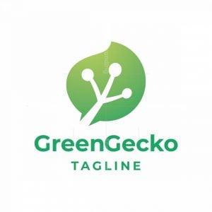 Green Gecko Logo