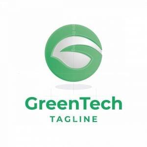 Green Tech Letter G Logo