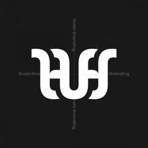 Hh Or Huh Or Hus Monogram Logo