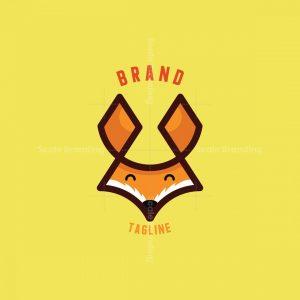 Head Fox Smile Logo