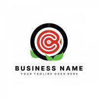 Letter C Sushi Logo