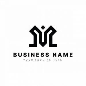 Corporate Letter M Logo