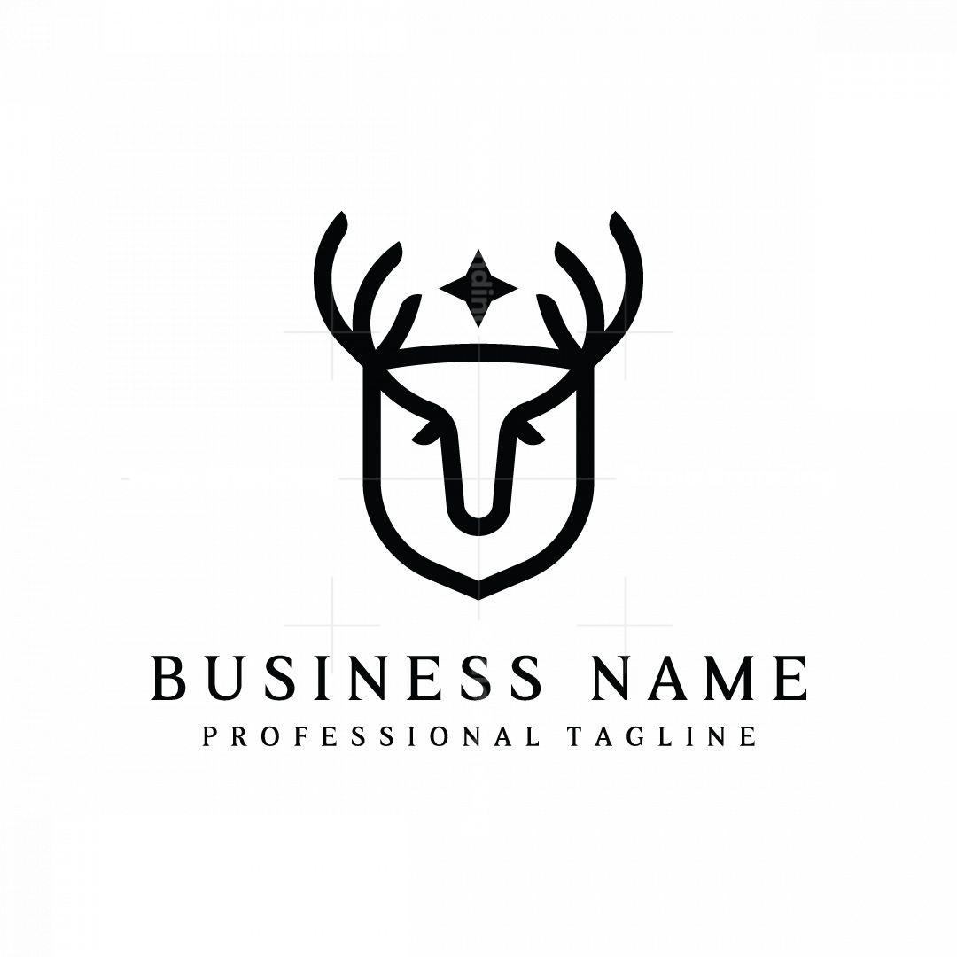 Deer Shield Logo
