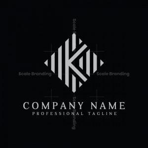 Abstract Initial K Or Ka Logo