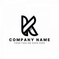 Minimal Letter K Logo