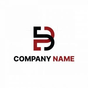 Modern Eb Or B Logo
