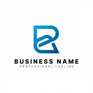 Letter R Link Logo