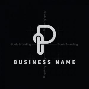 Simple P Knot Logo