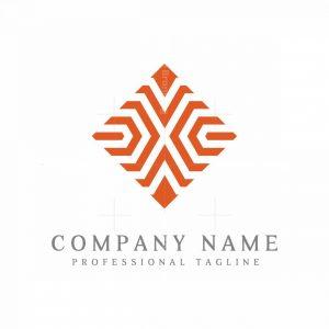 Letter X Stylish Logo