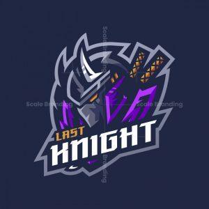 Last Knight Mascot Logo