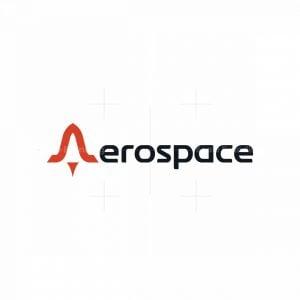 Letter A Aerospace Logo
