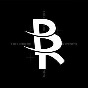 Letter Br Or Rb Logo