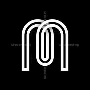 Letter M, W Or E Symbol Logo