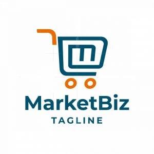 Market Biz Letter M Logo