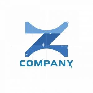 Monogram Z Abstract Logo