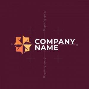 Origami Compass Logo