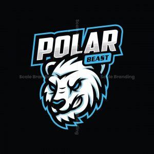 Polar Bear Mascot Logo