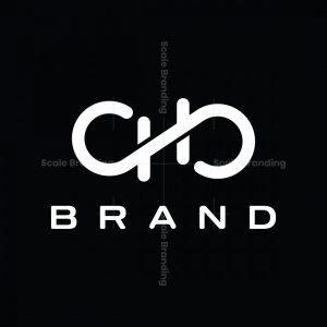 Qb Or H Letter Mark Infinity Logo